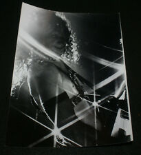 ANVIL LIPS LIVE IN STATEN ISLAND, NY B&W CONCERT PHOTO UNRELEASED PRO SHOT 1982