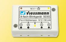 Viessmann 5030 Spur H0 Vierfach-Blinkgerät #NEU OVP#