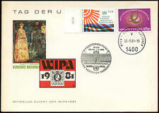 United Nations 1981 WIPA Stamp Exhibition Cover #C19124