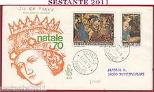 ITALIA FDC VENETIA 307 NATALE 70 '70 1970 ANNULLO VENEZIA Y761