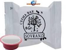 200 cialde capsule caffè SOVRANO CREMA BAR compatibili LAVAZZA A MODO MIO