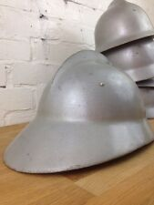 Vintage Fireman Helmet Made in Poland Antique Fire Brigade Hard Hat