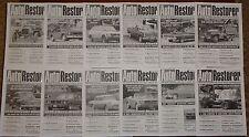 2006 Auto Restorer Magazine set 1966 Ford Mustang, 65 Falcon Futura, CCKW Trucks