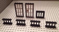Lego Lot Of Cell Door / Mid-Evil Dungeon Parts / Castle / Bars / Harry Potter