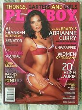 February 2006 Playboy ft. Adrianne Curry
