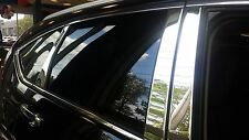 Chrome Pillar Posts LINCOLN MKC W/KEYPAD CUTOUT Stainless Steel 8 Pc 2015-2017