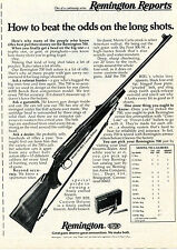 1975 Print Ad of Remington Reports Model 700 BDL Custom Deluxe Rifle
