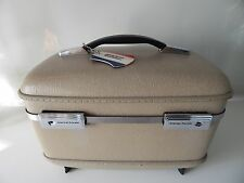Vintage American Tourister  Train Case Cosmetic Toiletry Hardcase
