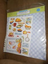 """Pot Luck Supper Cookbookin 12""""x12"""" Page Kit - Brand NEW & Sealed"""