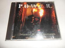 CD  Dedicated To World Revolution -  P.O.W.E.R.