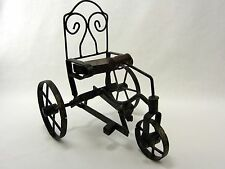 "Metal Vintage Tricycle Statue Retro Bike Replica 8.5"" x 8"""