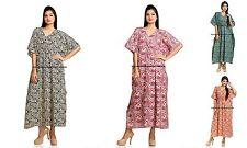 WHOLESALE Bulk Lots 10 Mixed Style Plus Size Cottton Kaftan Top/Beach Cover Gown