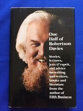 ONE HALF OF ROBERTSON DAVIES - FIRST AMERICAN EDITION REVIEW COPY