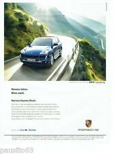PUBLICITE ADVERTISING  046  2009  porsche  le nouveau Cayenne Diesel