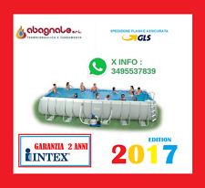 INTEX PISCINA FUORI TERRA ULTRAFRAME 975 X 488 X 132 MODELLO 2017 promozione