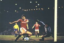 Signed Bryan Robson Manchester United Photo + Proof England Captain Marvel