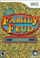 BRAND NEW SEALED WII incl 2000 Surveys Family Feud: Decades (Nintendo Wii, 2010)