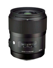 Sigma Art 35mm f/1.4 DG HSM Lens For Sony A Mount - Warranty card -Fedex to USA
