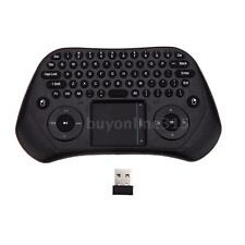 2.4g Wireless qwerty Tastatur Maus Touchpad Kontrolle Mini für Android TV PC BC3
