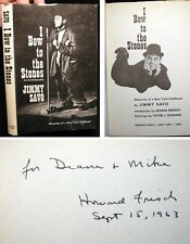 1963 NEW YORK CITY MEMOIR JIMMY SAVO SIGNED INSCRIBED BY PUBLISHER