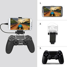 Smart Phone Clip Clamp Mount Holder For PlayStation PS4 Game Controller New