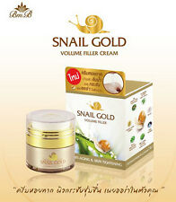 Snail Gold Cream 15 g Anti Aging Facial Skin Tightening Collagen Bright Natural