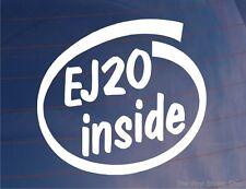 EJ20 INNEN Neuheit Vinyl Auto/Fenster/Stoßstange Aufkleber Subaru Impreza WRX
