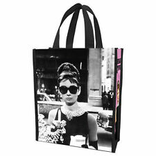 AUDREY HEPBURN - BREAKFAST AT TIFFANYS - REUSABLE SHOPPING TOTE/GIFT BAG 92073