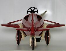 Air Plane Pedal Car Rare Red WW1 Vintage Airplane Aircraft Midget Metal Model