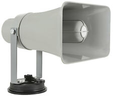 Vehicle Megaphone Loud Speaker Plays USB & SD With Loop Recorder Siren & Whistle