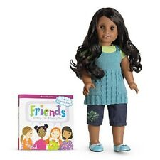 American Girl SONALI DOLL and BOOK Chrissa and Gwen's Friend hard to find