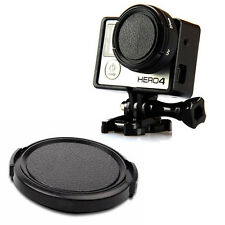 Protective Lens Cap Cover Case Pinch Lens Protector For GoPro Hero 3/ 3+/ 4