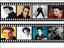 Elvis presely rollo de película A4 Glaseado Hoja Comestible Cake Topper / Pastel frontera