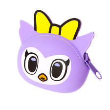 tokidoki Coin Purse Purple Owl Silicone Neon Star NWT