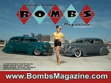 """LOWRIDER CLASSIC & KUSTOM BOMBS MAGAZINE ISSUE #3 COVER POSTER GIANT 24""""X18"""" NEW"""