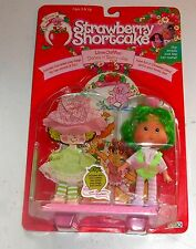 1991 vintage Strawberry Shortcake-Lime Chiffon-Poupée Parfumée-Coffret mib moc