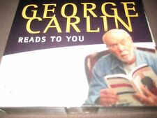 6 CD Box George Carlin Reads to You Audiobook Denis Patrick Comedy Steve Martin