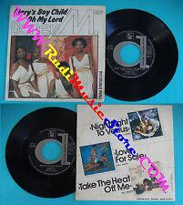 LP 45 7'' BONEY M Mary's boy child Oh my lord 1978 italy DURIUM DE3041 cd*mc dvd