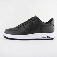 New Mens Nike Air Force 1 07 LV8 Black White Leather Trainers UK 8 BN 718152 014