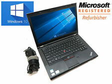 "Lenovo ThinkPad T430 14"" / i5 2.6GHz / 4GB / 320GB / Cam / Windows 10 Laptop"