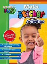 Preschool Fun - Math Sticker Activities (Preschool Fun Series), Popular Book Com