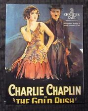 1993 Christie's East Hollywood POSTERS V Auction Catalog SC NM Charlie Chaplin