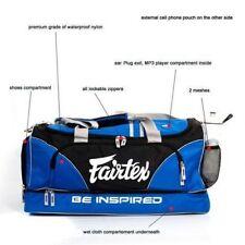 FAIRTEX MUAY THAI BOXING gym Equipment Gear Bag NEW