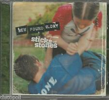 NEW FOUND GLORY - Sticks and stones  - CD 2002  SEALED