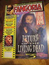 Fangoria Magazine 1993 Jurassic Park RETURN OF THE LIVING DEAD Jason GoesTo Hell