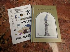 The Last Guardian Collector's Edition 72 Page Hardcover Art Book w/ Stickers NEW