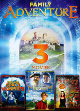 3-Movie Family Adventure: Mysterious Museum / Teen Sorcery / Teenage Space Vamp