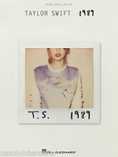 Taylor Swift  - T.S. 1989 Piano Vocal Guitar Songbook! HL# 141994 - QPC418303