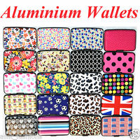 Aluminium Metal Pocket Business ID Credit Card Wallet Holder Waterproof Case Box