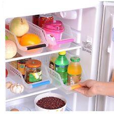 2x Küche Kühlschrank Lebensmittel Lagerung Korb Box Veranstalter Sammeln Holder